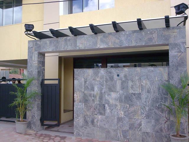 Elevation Stone Tiles Bangalore : Kota stone bangalore wall cladding natural